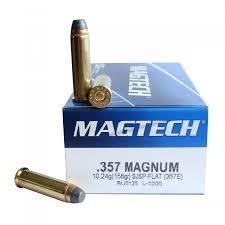 MagTech 357 Magnum 158gr SJSP