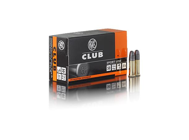 RWS 22LR Club 40 grains/2,6g - 500
