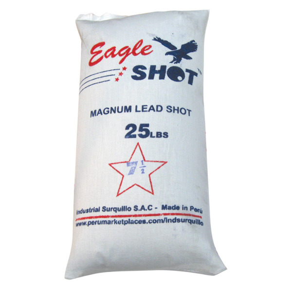 Eagle Magnum Blyhagl, 2,4mm #US 7,5