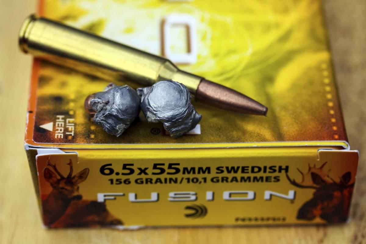 Federal 6,5x55 Swedish 10,1g / 156gr Fusion