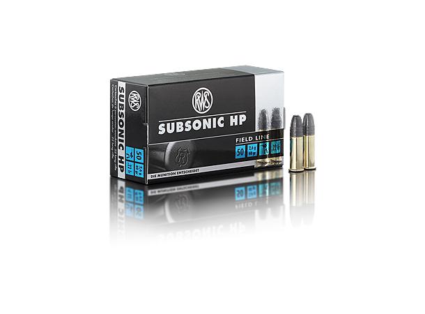 RWS 22LR Subsonic HP 40 grains/2,6g