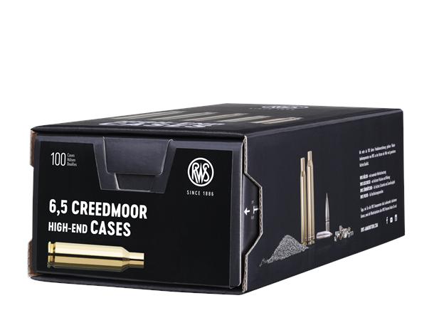 RWS 6,5mm Creedmoor tomhylser