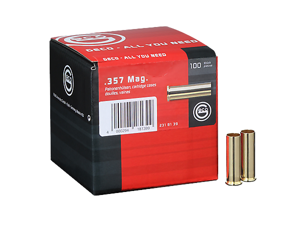 Geco 357 Magnum tomhylser