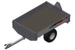ATV Tilhenger 6013 Traktor registrert, ATV vare, tipp Traktor reg.