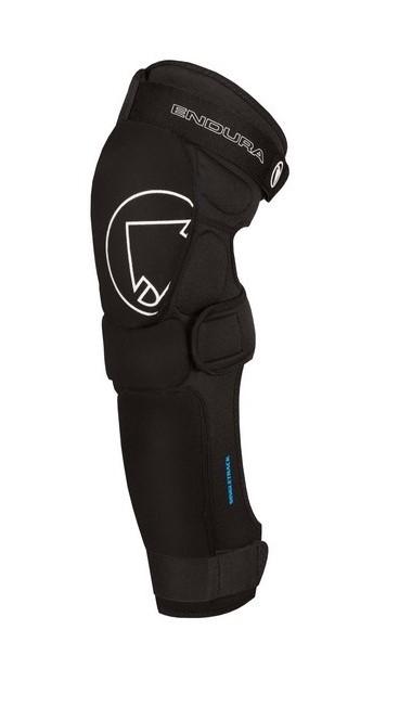 Endura Singletrack Shin Protector: Black - L-XL