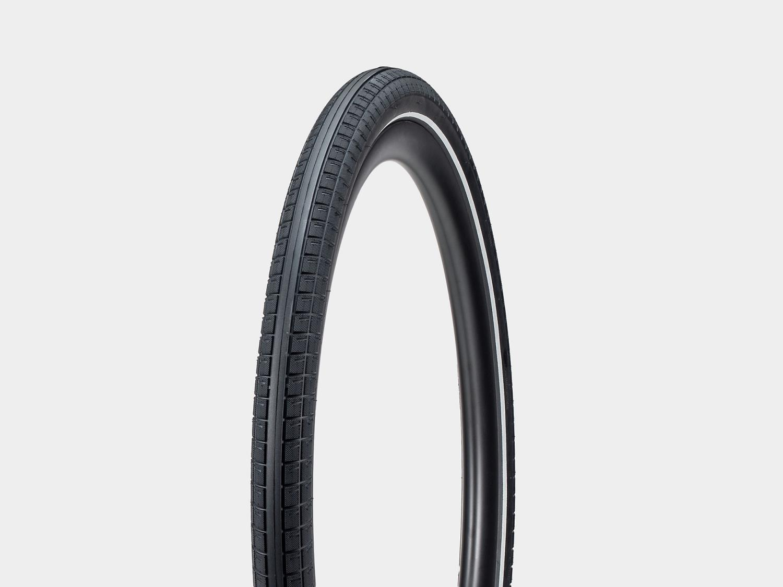 Bontrager E6 Hard-Case Lite E-Bike Tire, Black/Reflective 700C x 50mm
