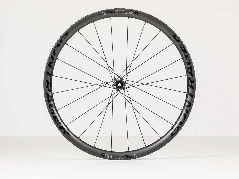 Bontrager Aeolus Pro 3V TLR Disc Road Wheel, forhjul