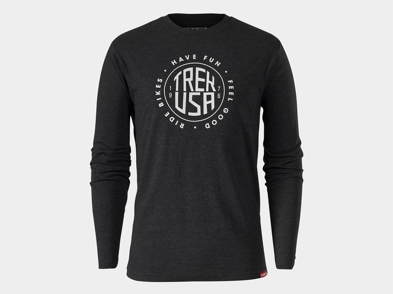 Trek USA Stamp Long Sleeve T-skjorte