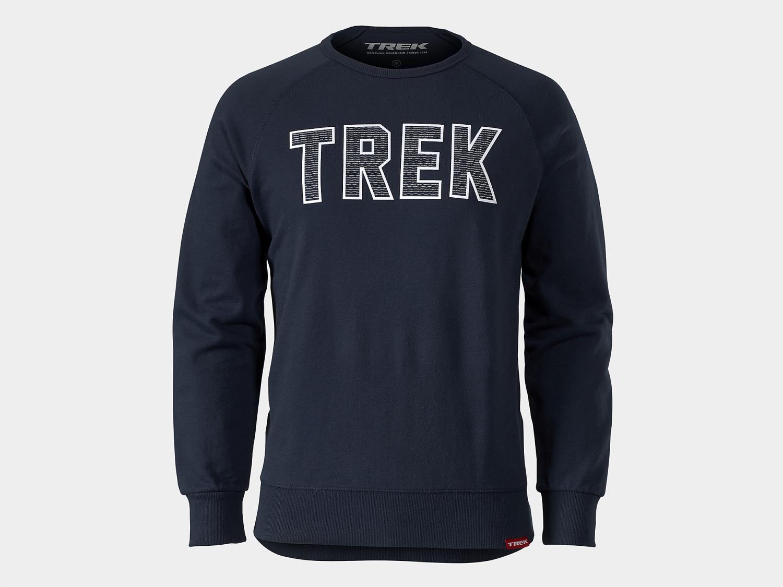 Trek Twill Logo Crewneck Sweatshirt
