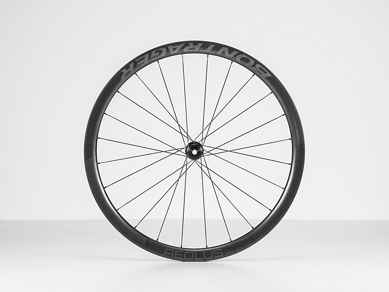 Bontrager Aeolus RSL 37 TLR Disc Road Wheel, forhjul