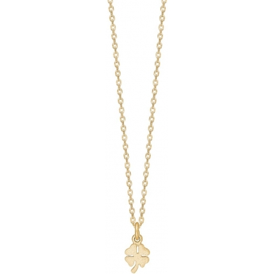Enamel, Clover Necklace