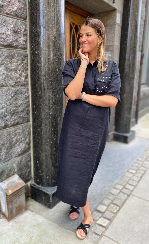 Ganni, Light Linen Maxi Dress