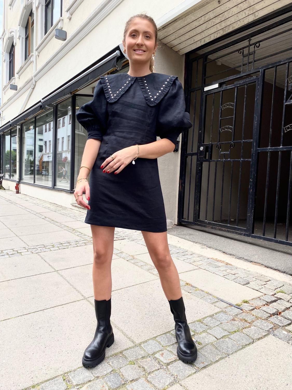 Ganni, Light Linen Minidress