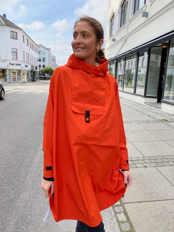 BLÆST poncho orange