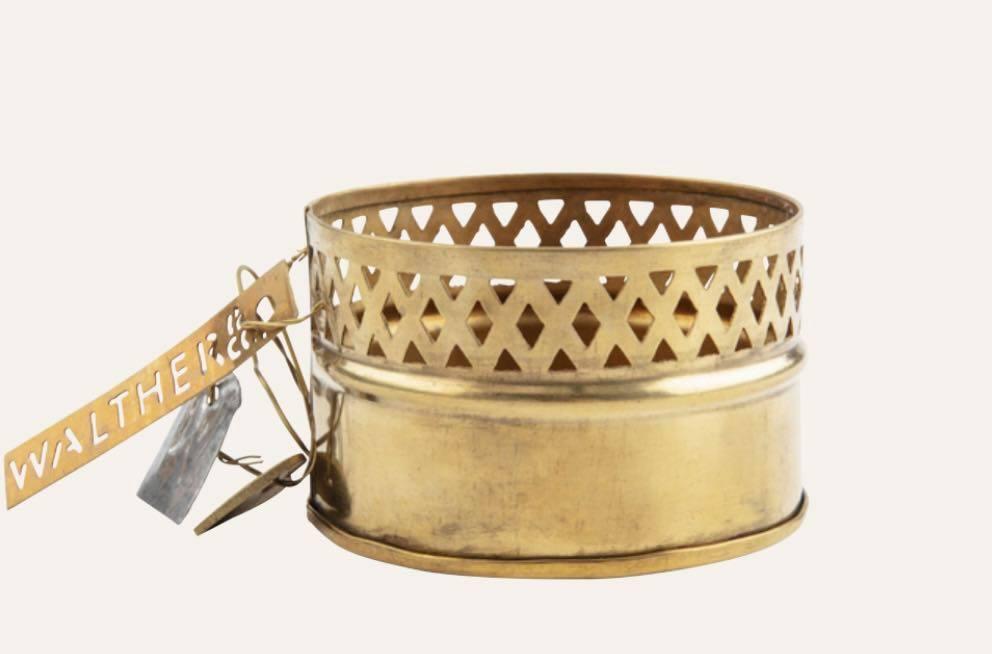 W&C, Brass Candleholder
