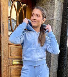 Juicy Couture, Classic Zip Della Robia Blue