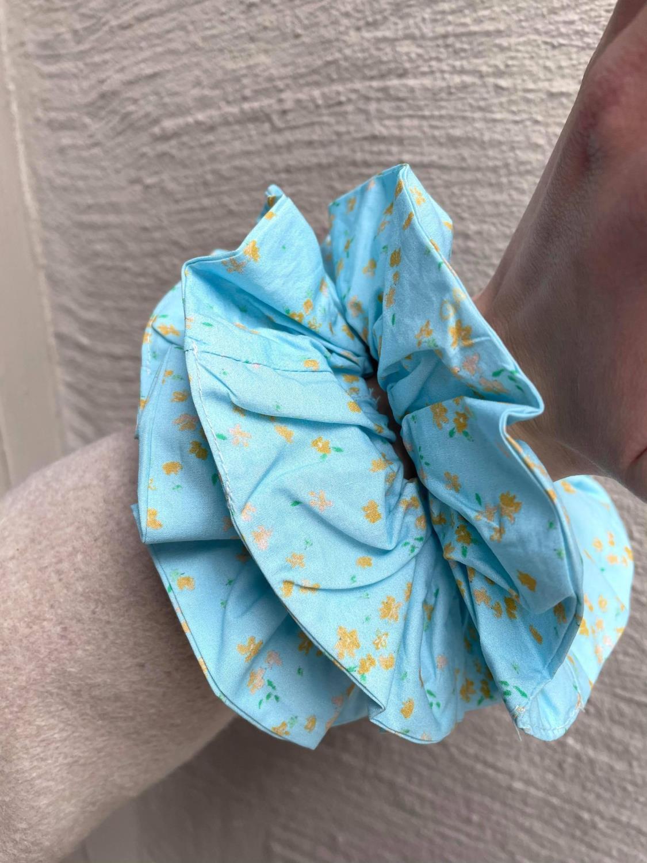 Ganni, Scrunchie Corydalis Blue