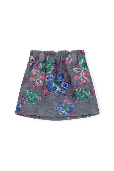 Ganni, Structured Jacquard Skirt