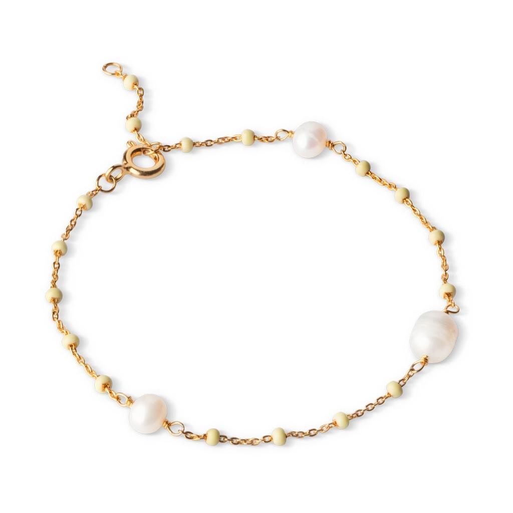 Enamel, lola perlita bracelet