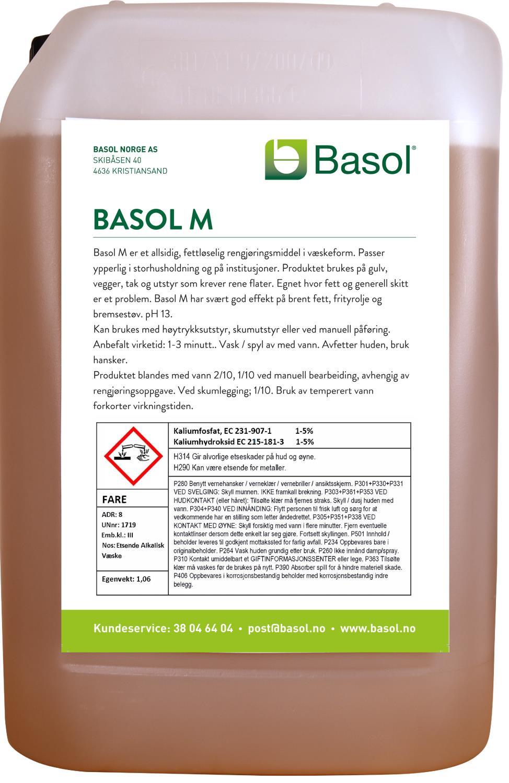 Basol M (25 ltr)