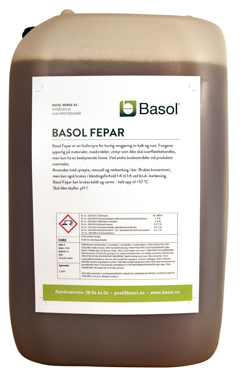 Basol Fepar (25 ltr)