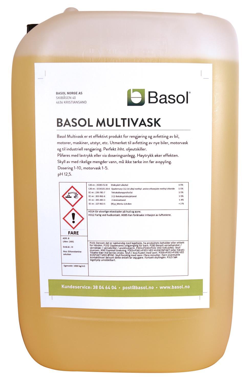 Basol Multivask (25 ltr)