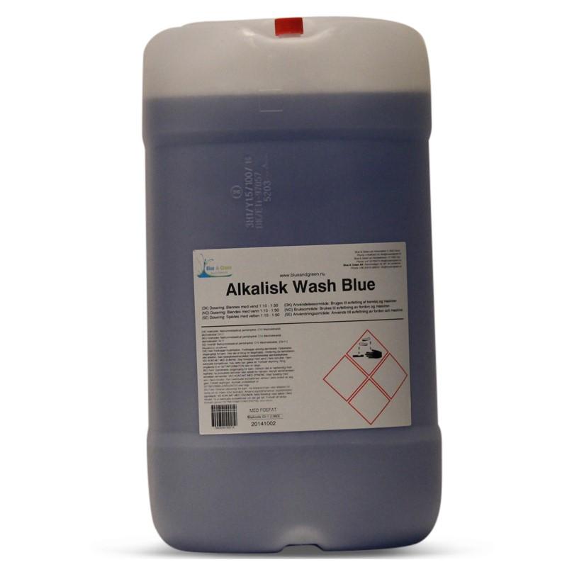 ALKALISK WASH BLUE 25 LTR.