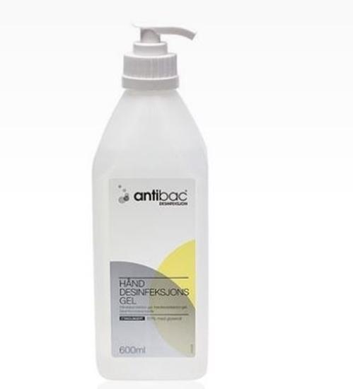 Antibac Hånddesinfeksjon 85% 600ML m/pumpe