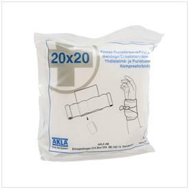 Snøgg Enkeltmannspakke, steril 20 cm