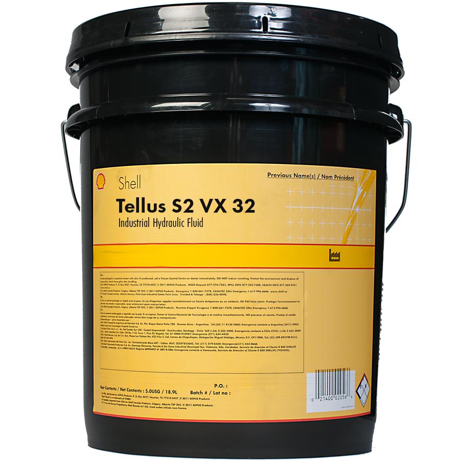 SHELL TELLUS S2 VX 32 20L - hydraulikkolje