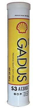 SHELL GADUS S3 A1300C 2 0.38K SP - smørefett