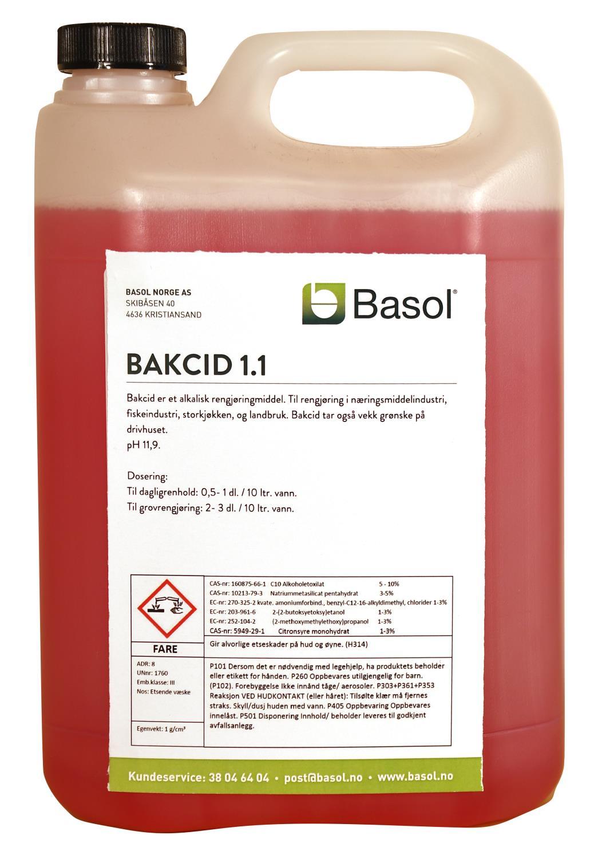 BAKCID 1.1 (5 ltr)
