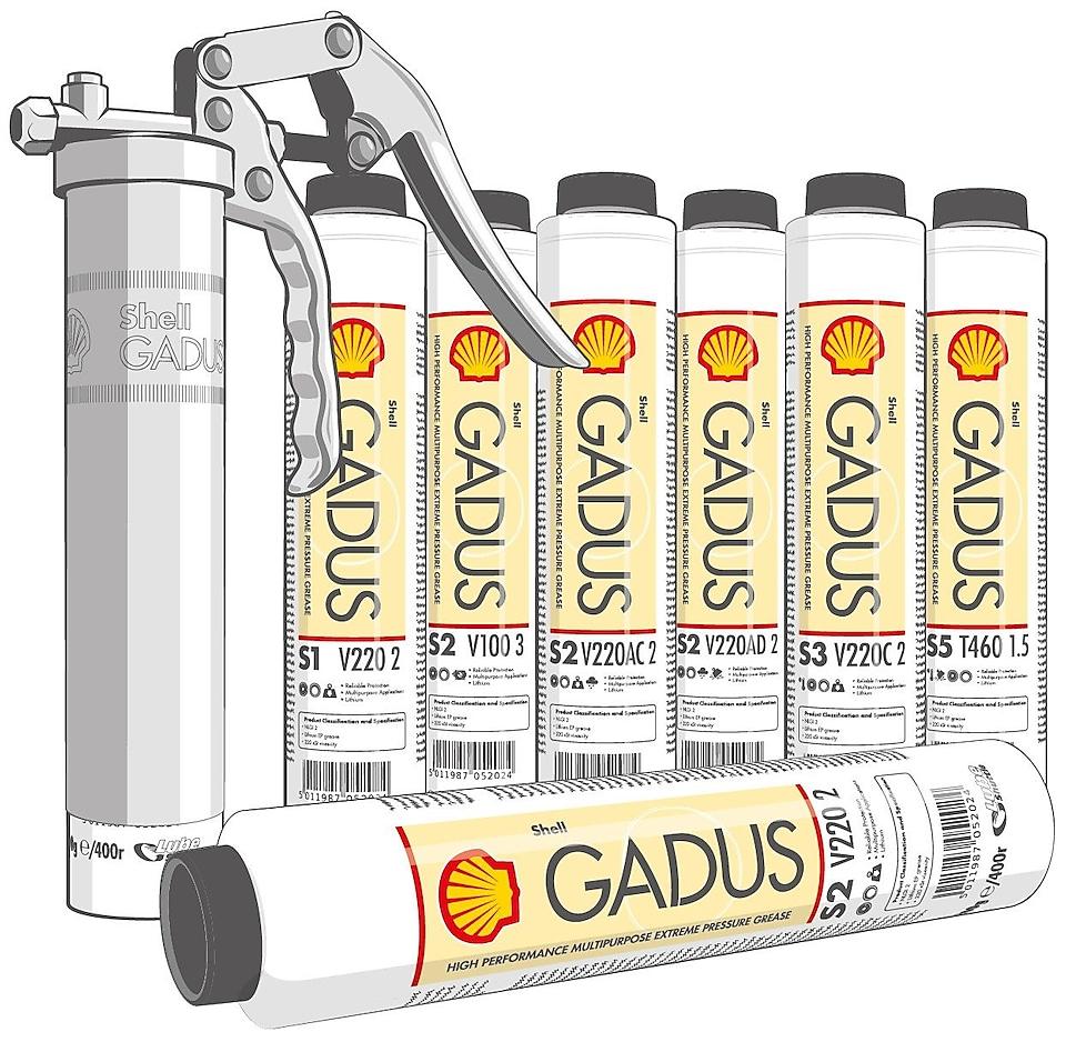 SHELL GADUS S3 V220C 2 LS 0,4K - smørefett