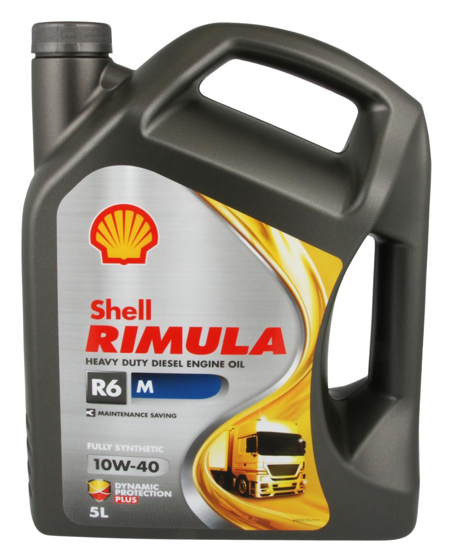 SHELL RIMULA R6 M 10W-40 5L - motorolje