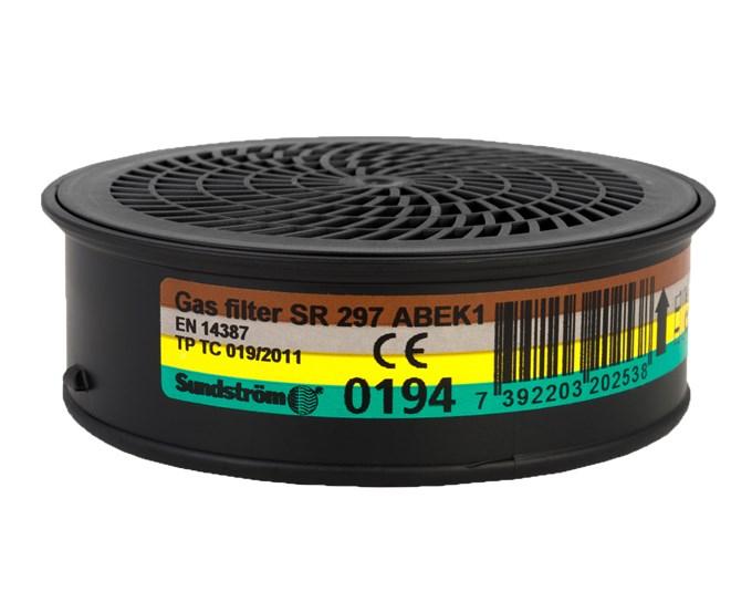 GASSFILTER ABEK1 SR297 À4 (1 stk filter)
