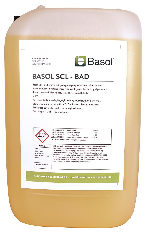 Basol SCL-Bad (25 ltr)