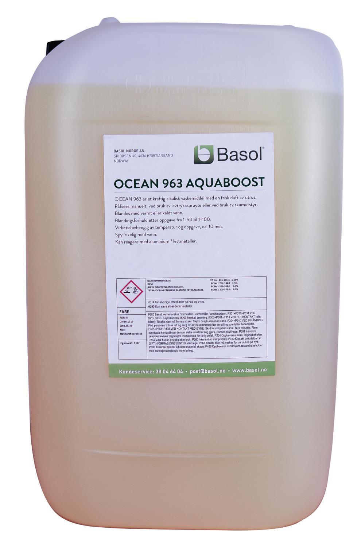 Ocean 963 Aquaboost Kraftvask (25 ltr)
