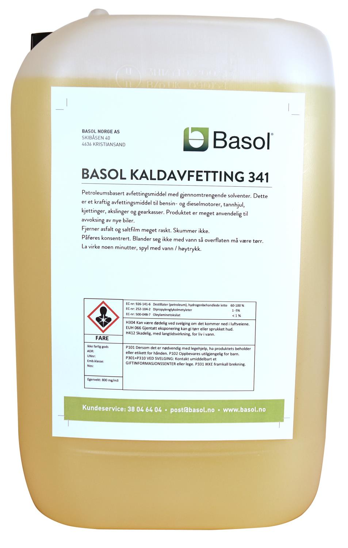 Basol Kaldavfetting 341 (25 ltr)