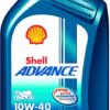 SHELL ADVANCE 4T AX7 10W-40 (SM/MA2) (1ltr)