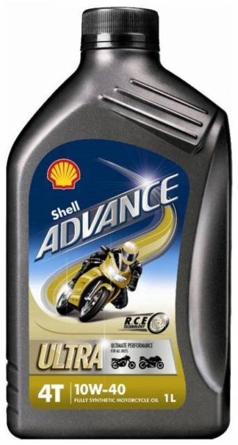 SHELL ADVANCE 4T ULTRA 10W-40  (1 LTR)