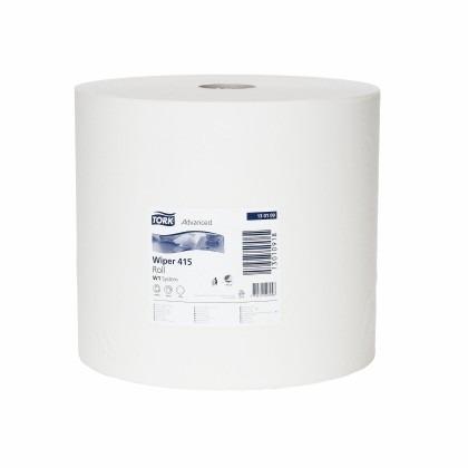 Tork Standard pussepapir 1 lag hvit  (rull a 1180M) W1 130109