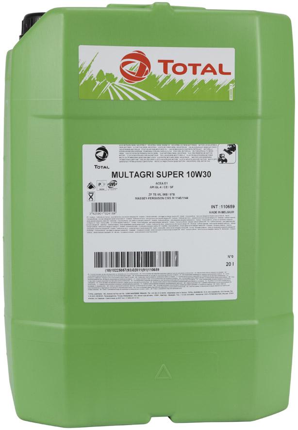 Total Multagri Super 10W-30 20L