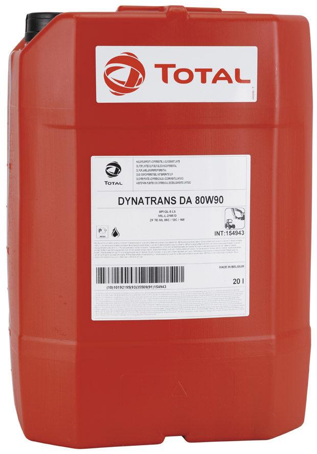 Total Dynatrans DA 80W-90 20L