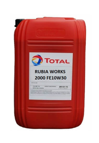 UG Total Rubia Works 2000 FE 10w30 (20 ltr)