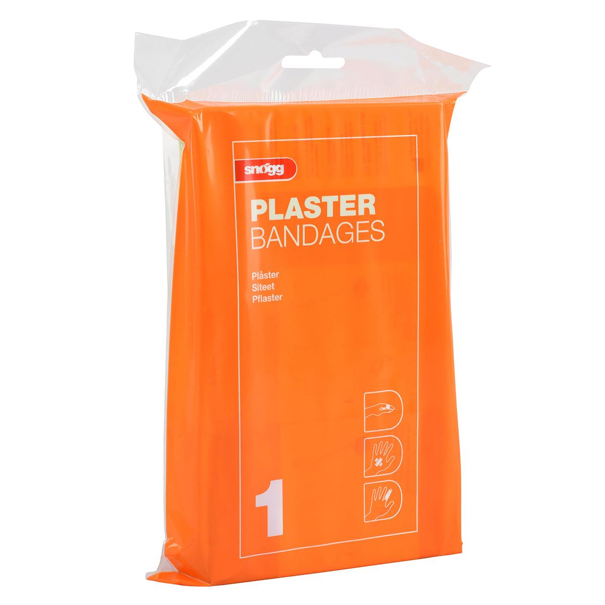 Snøgg Innholdspose 1. Plaster