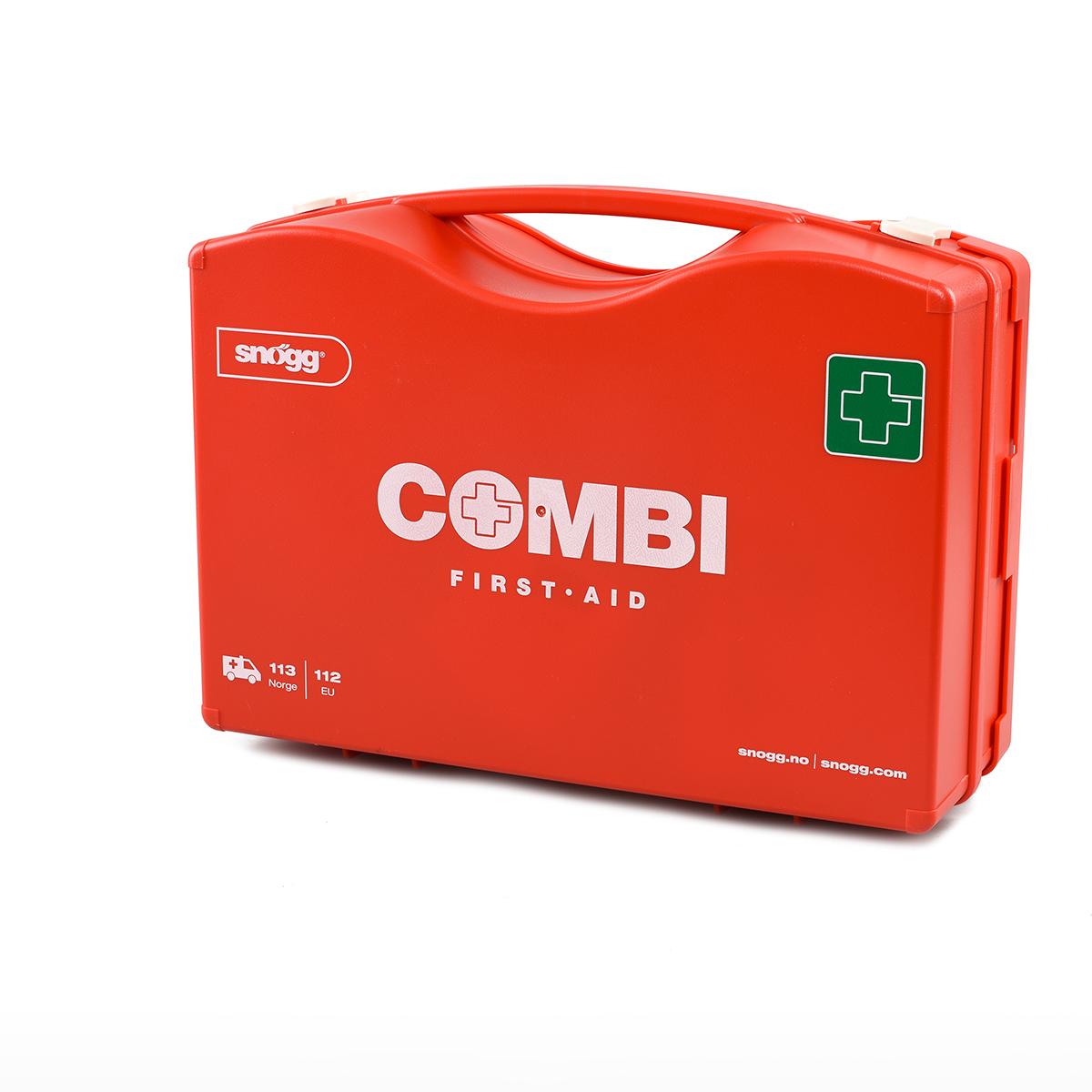 Snøggkofferten Combi, førstehjelpskoffert