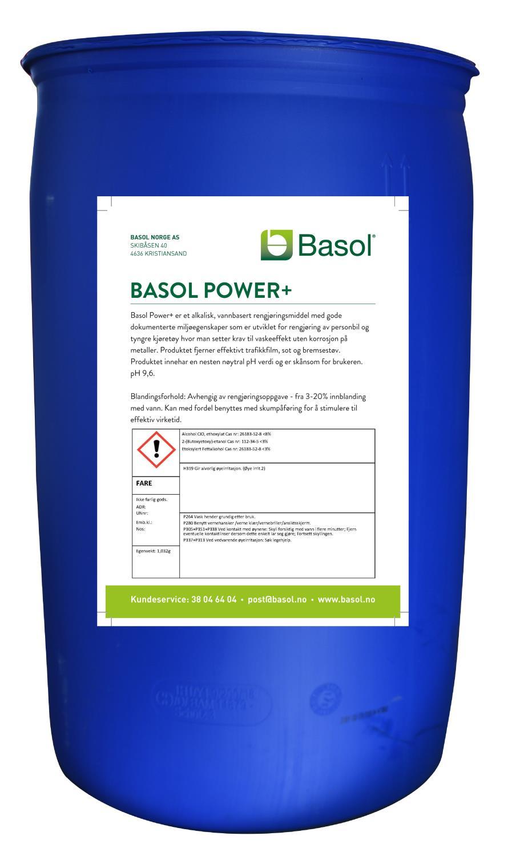 Basol Power+ (200 ltr)