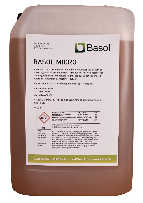 Basol Micro (25 ltr)