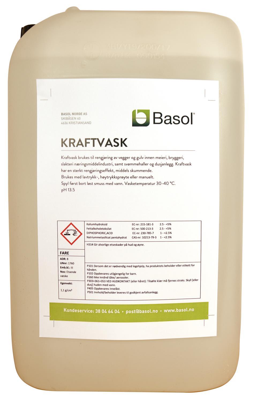 Kraftvask (25 ltr)