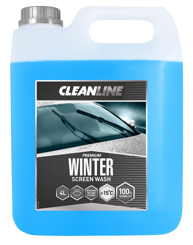 Cleanline Premium vinter spylervæske -15 (4 ltr)